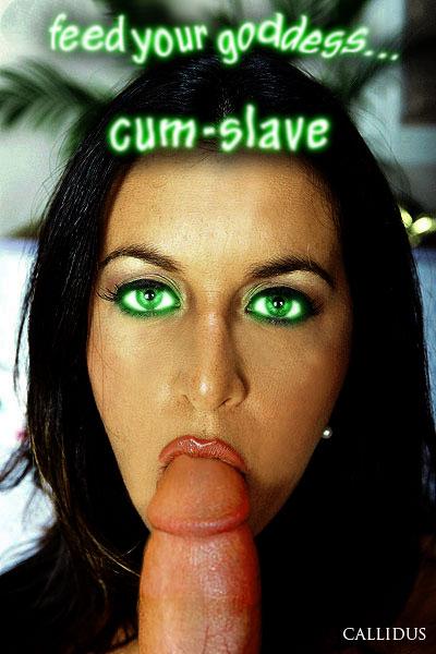 slave cum